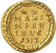 Aureus - Maximianus Herculius (MAXI MIAN I AVG SMT; Ticinum) – reverse