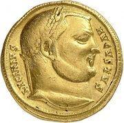 Aureus - Licinius I (IOVI CONSERVATORI AVGG; Nicomedia) – obverse