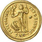 Aureus - Licinius I (IOVI CONSERVATORI AVGG; Nicomedia) – reverse