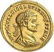 Aureus - Diocletianus (IOVI CONSERVATORI AVGG; Rome) – obverse