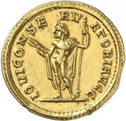 Aureus - Diocletianus (IOVI CONSERVATORI AVGG; Rome) – reverse