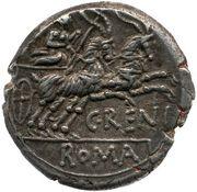 Denarius (Renia: Caius Renius; C RENI ROMA) – reverse