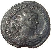 Antoninianus - Diocletianus (IOVI CONSERVAT; Ticinum) – obverse