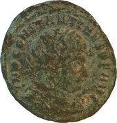 Follis - Constantinus Ist (SOLI INVICTO COMITI; Roma) – obverse