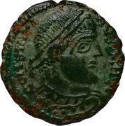 Nummus - Constantinus I (GLORIA EXERCITVS; Lugdunum) – obverse