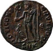 Follis - Constantinus I (IOVI CONSERVATORI; Cyzicus mint) – reverse