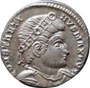 Nummus - Constantinus I (GLORIA EXERCITVS; Lugdunum mint) – obverse