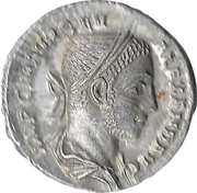 Denarius - Severus Alexander (PM TRP VI COS II PP; Mars) – obverse