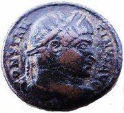 Follis - Constantinus Ist (DN CONSTANTINI MAX AVG; Arelate) – obverse