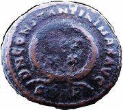 Follis - Constantinus Ist (DN CONSTANTINI MAX AVG; Arelate) – reverse