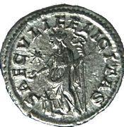 Denarius - Julia Maesa - Saeculi Felicitas – reverse