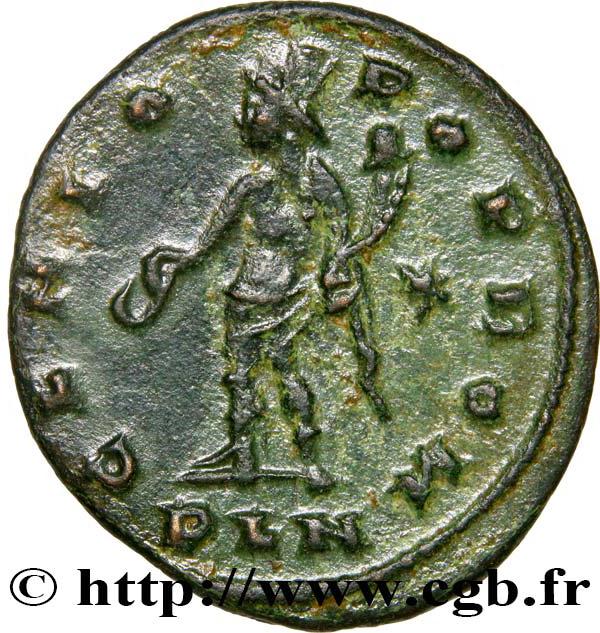 Ancient Roman Imperial AE Follis Coin of Maximinus II, ca