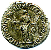 Commodus denarius – reverse