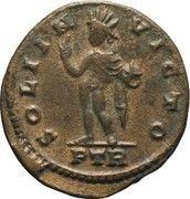 Fraction - Constantinus Ist (SOLI INVICTO; Treveri) – reverse