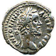 Denarius-Antoninus Pius VOTA SOL DEC 11 – obverse