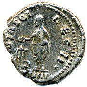 Denarius-Antoninus Pius VOTA SOL DEC 11 – reverse