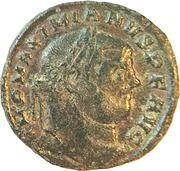 Follis - Maximianus (SACRA MONET AVGG ET CAESS NOSTR; Sisak) – obverse