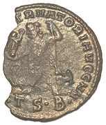 Follis Licinius I IOVI CONSERVATORI Thessalonica – reverse