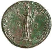 Sestertius - Traianus (SENATVS POPVLVSQVE ROMANVS SC; Rome) – reverse