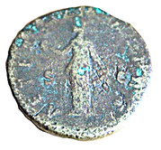 Sestertius - Faustina I (AETERNITAS) – reverse