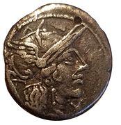Denarius (Marcus Papirius Carbo) – obverse