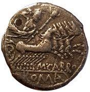 Denarius (Marcus Papirius Carbo) – reverse