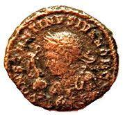 Nummus - Constantinus II (BEATA TRANQVILLITAS) – obverse