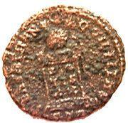 Nummus - Constantinus II (BEATA TRANQVILLITAS) – reverse