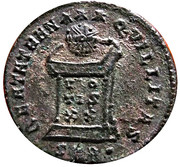 Centenionalis - Constantinus I (BEATA TRANQVILLITAS; Trier mint) – reverse