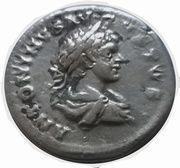 """Denier Caracalla """"secvrit orbis """" – obverse"""