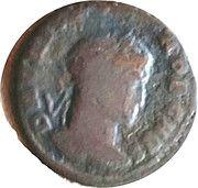 Follis - Crispus (BEATA TRANQVILLITAS, Lyons mint) – obverse