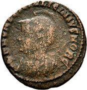Nummus - Licinius II (IOVI CONSERVATORI; Nicomedia mint) – obverse