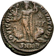 Nummus - Licinius II (IOVI CONSERVATORI; Nicomedia mint) – reverse