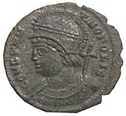 Follis - Constantinus Ist (CONSTANTINOPOLIS; Treveri) – obverse