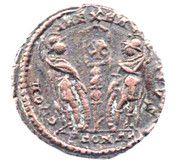 Follis - Constantinus II (GLORIA EXERCITVS; Arelate) – reverse