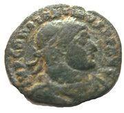 Follis - Constantinus I (SOLI INVICTO COMITI, Arles mint) – obverse