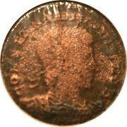 Follis - Constantinus II (GLORIA EXERCITVS; Two standards; Constantinopolis) – obverse