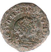 Nummus - Constantinus II (BEATA TRANQUILLITAS, Lyons mint, 2nd type) – obverse