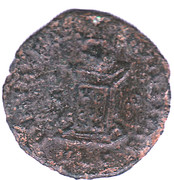 Nummus - Constantinus II (BEATA TRANQUILLITAS, Lyons mint, 2nd type) – reverse
