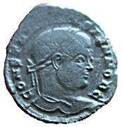 Nummus - Constantinus II (Vot X) – obverse