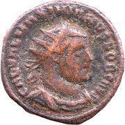 Fraction - Galerius (CONCORDIA MILITVM; Cyzicus mint) – obverse