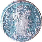 Follis - Constantinus II (GLORIA EXERCITVS; Two standards; Nicomedia) – obverse