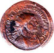 Antoninianus - Diocletianus (IOVI CONSERVATORI) – obverse