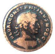 Follis - Constantinus I (GENIO POP ROM) – obverse