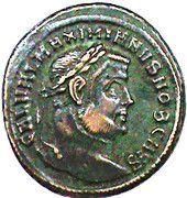 Follis - Maximianus (GENIO POPULI ROMANI) – obverse