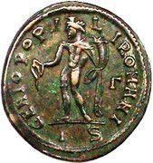 Follis - Maximianus (GENIO POPULI ROMANI) – reverse