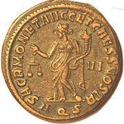 Follis - Maximianus (SACR MONET AVGG ET CAESS NOSTR) – reverse