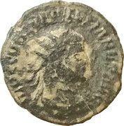 Antoninianus - Diocletianus (CONCORDIA MILITVM; Cyzicus) – obverse