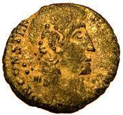 Follis - Constantius II (VOT XX MVLT XXX; Cyzicus) – obverse