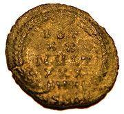 Follis - Constantius II (VOT XX MVLT XXX; Cyzicus) – reverse